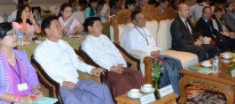 Participants of The Code's awareness event on child protecting in Myanmar tourism